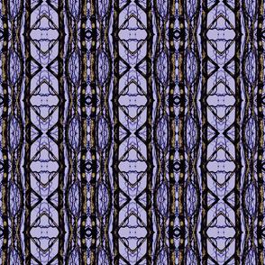 Geometric Sycamore (Black & Brown on Purple)