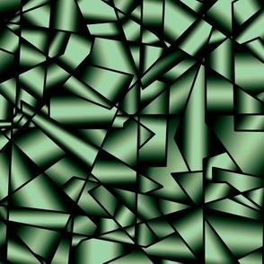 015 Ice crystals - emerald
