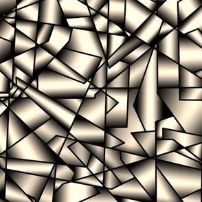 015 Ice crystals - metallic