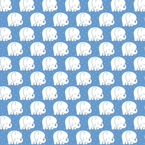 mod baby » sleepy elephants blue