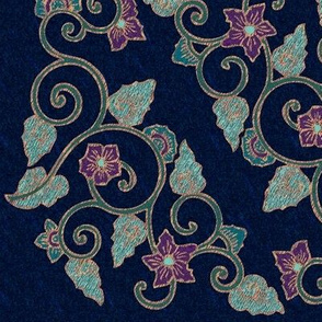 My-beautiful-corner-embroidery-pattern-squared-COPPER-lines-embroidery-colors-STARRY-NIGHT