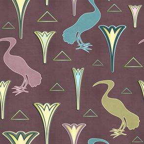 Ibis&Lotus (Pink/Gold)