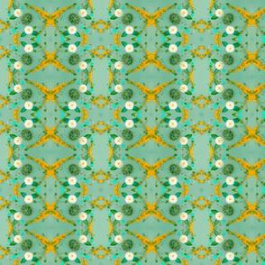 Turtles Pattern 1 (Orange & Green)