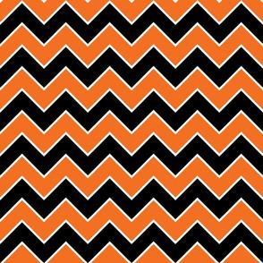 Halloween Chevron Pattern