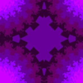Purple Butterfly Crown