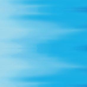 Aqua Blues Ombre Wave