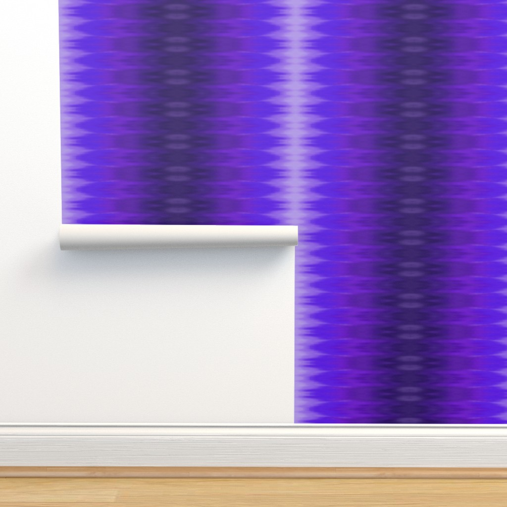 Isobar Durable Wallpaper featuring Bright Violet Ombre Wave by designergal