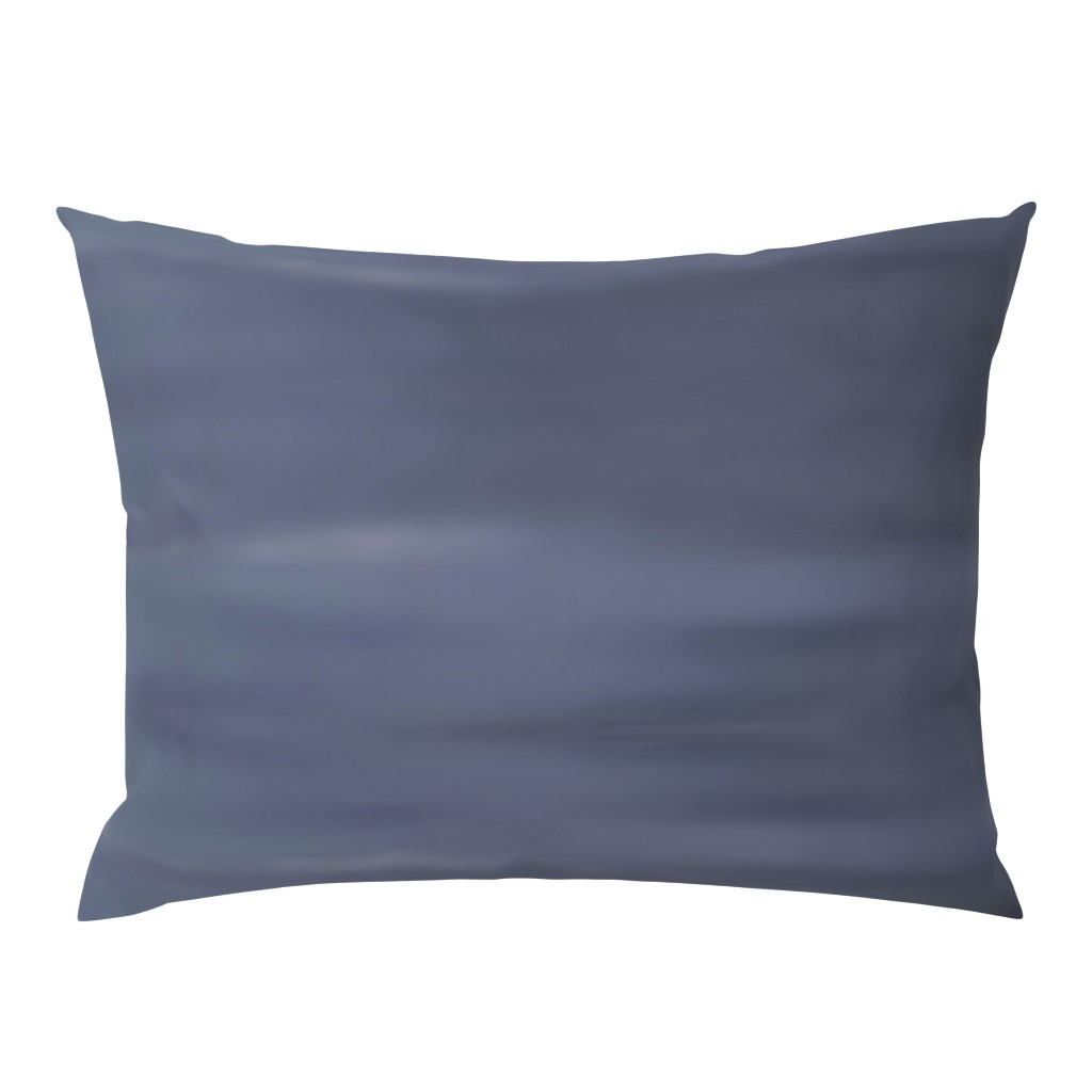 Campine Pillow Sham featuring Cool Grey Ombre Wave by designergal