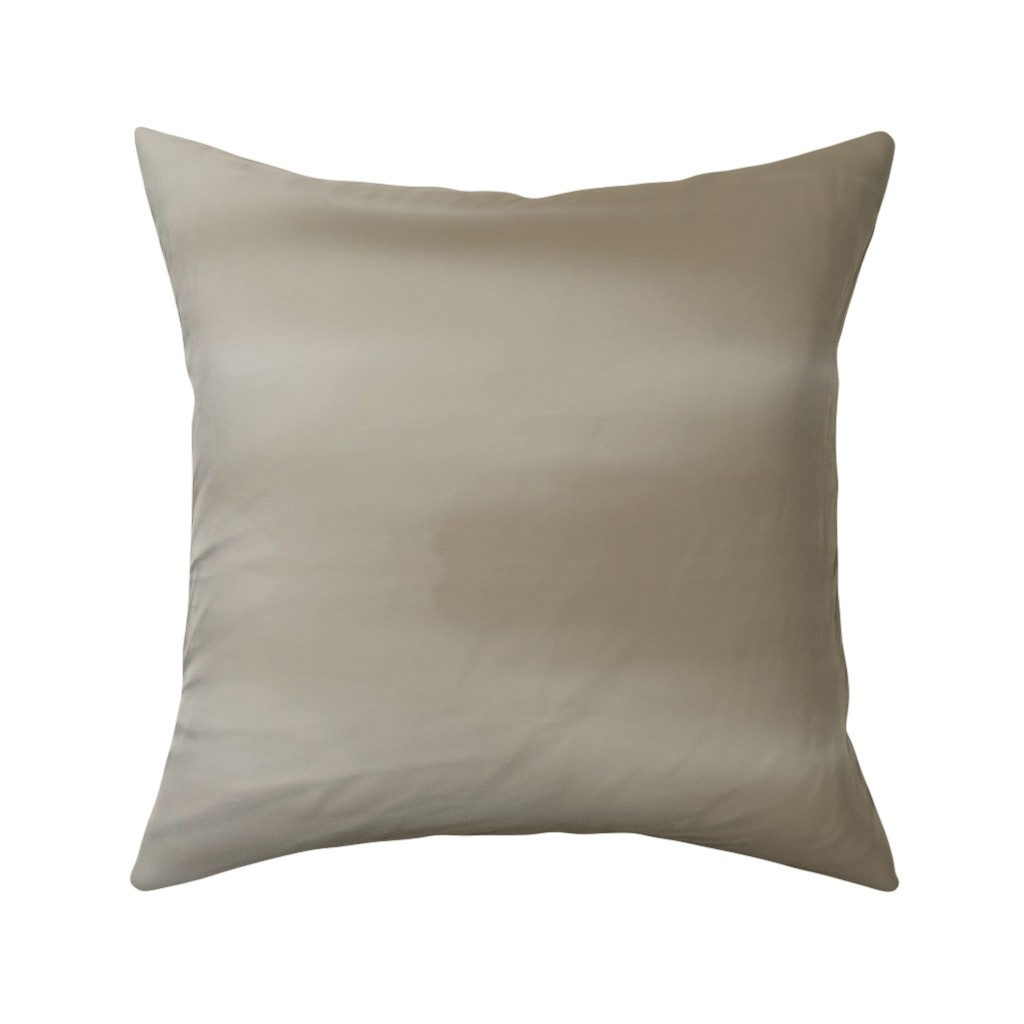 Catalan Throw Pillow featuring Taupe Ombre Wave by designergal