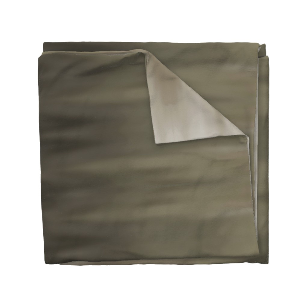 Wyandotte Duvet Cover featuring Taupe Ombre Wave by designergal