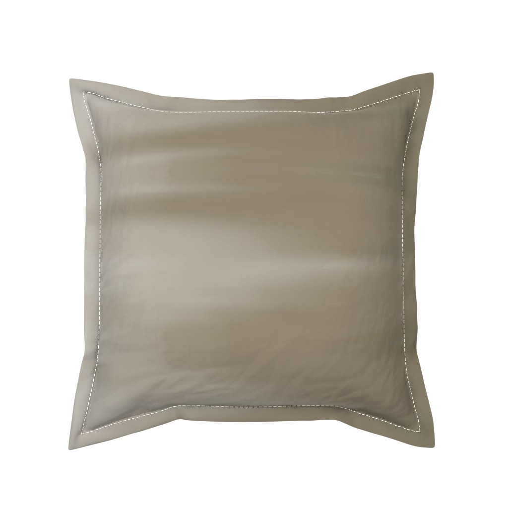 Serama Throw Pillow featuring Taupe Ombre Wave by designergal