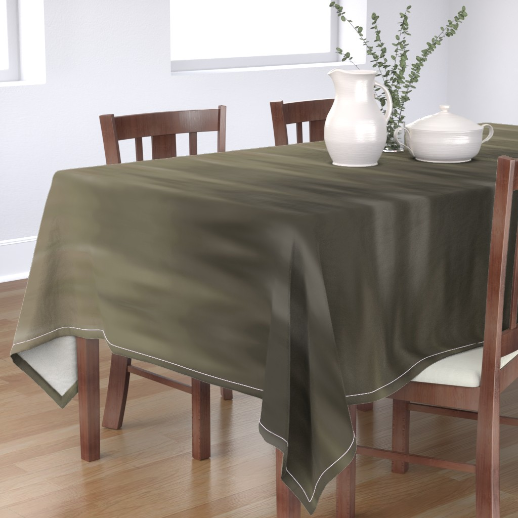 Bantam Rectangular Tablecloth featuring Taupe Ombre Wave by designergal