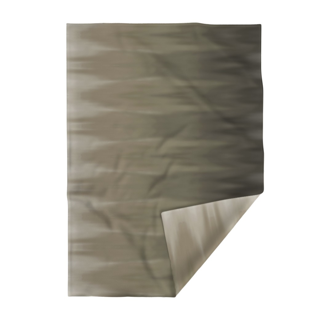 Lakenvelder Throw Blanket featuring Taupe Ombre Wave by designergal