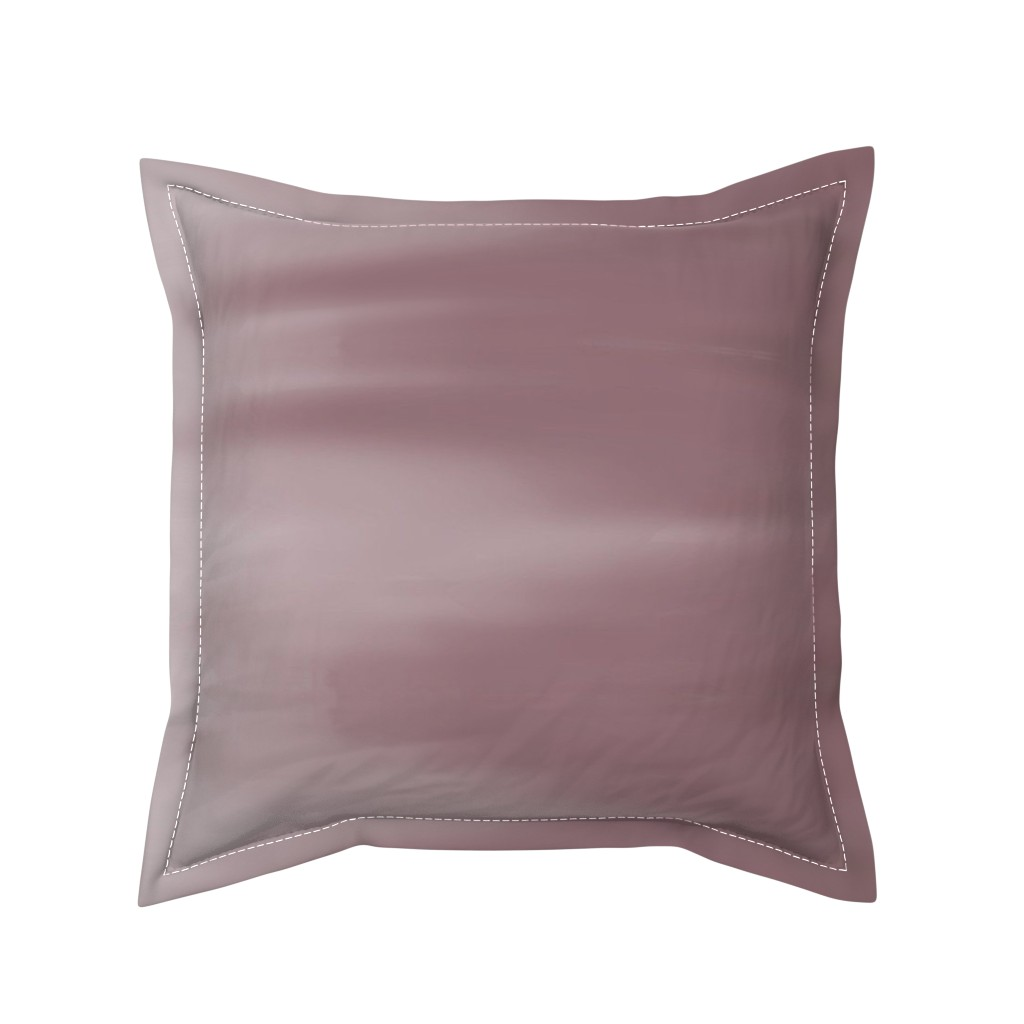 Serama Throw Pillow featuring Ruddy Brown Ombre Wave by designergal