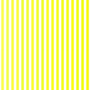 Sunny Yellow Ombre Stripe