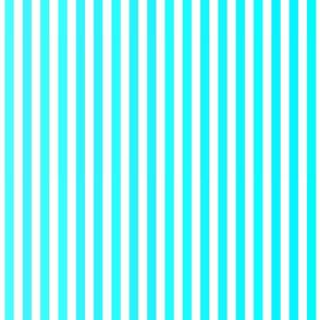 Aqua Blues Ombre Stripe