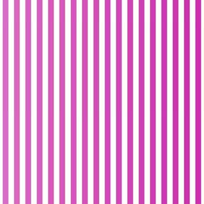 Fuschia Ombre Stripe