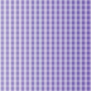 Deep Purple Ombre Gingham