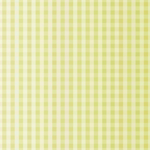 Sunny Yellow Ombre Gingham