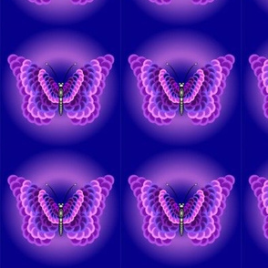 Purple Butterfly Glow