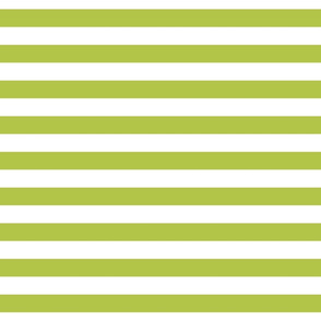 "stripes 1"" lime"