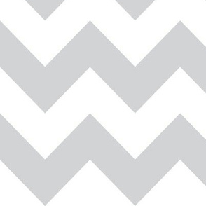 chubby chevron light grey