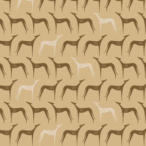sighthounds clear brown
