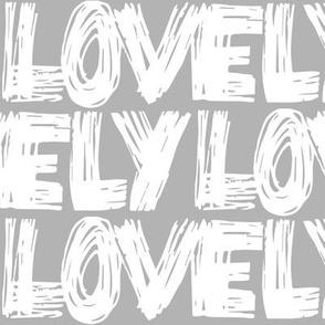 Lovely Grey Scribbles