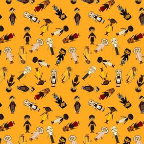 Multicultural_Children_Small_Tile_Orange_background_3