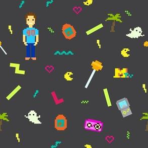 90's Pixel Art style culture