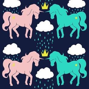 The Storm Ponies (Blue)