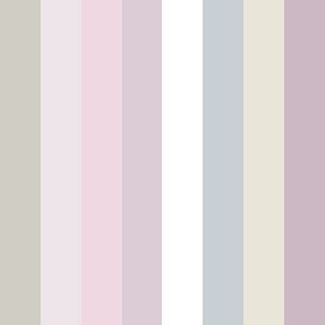 lilac-mauve colorful wide stripes