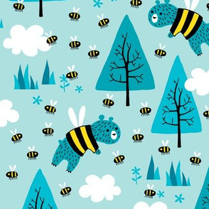 Bears trying to be bees (small)