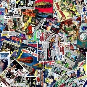 vintage comic book science fiction