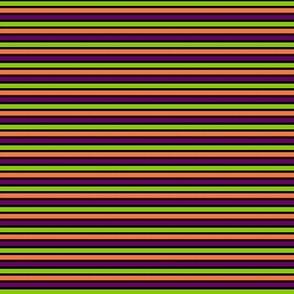 Halloween Stripes Horizontal