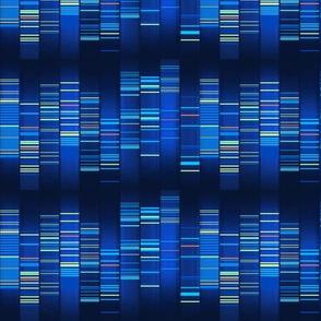 Blue Techno Stripe - Science Matters