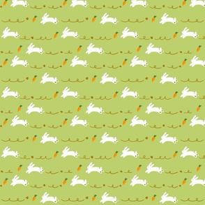 rabbits-yellow green-small