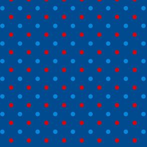 Patriotic Butterfly Dot