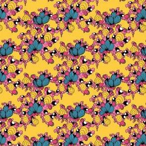 Florescência yellow