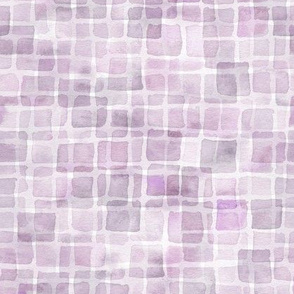 lavender double watercolor squares