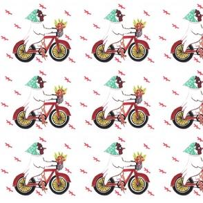 Beach Bike Chicken
