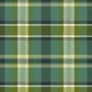 Soothing Celtic Green Plaid