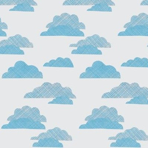 Stormy Blue Clouds