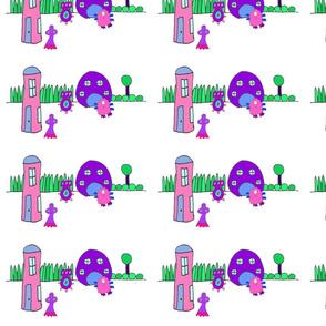 blob houses