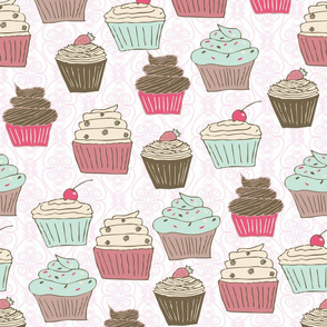 cupcakes curly whirly