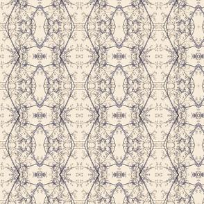 Sycamore Lace (Sand & Lavender)