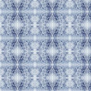 Tree Rings & Saw Blades (Blue)