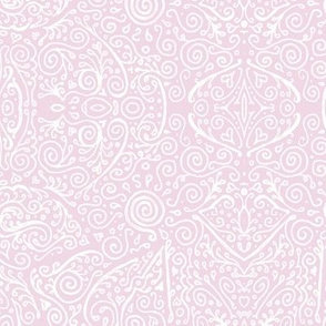 rose pink bridal mendhi