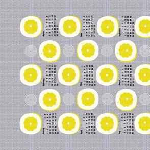 2021 lemon tea towel calendar
