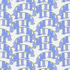 Bluebell Wood Fabric - NEW!